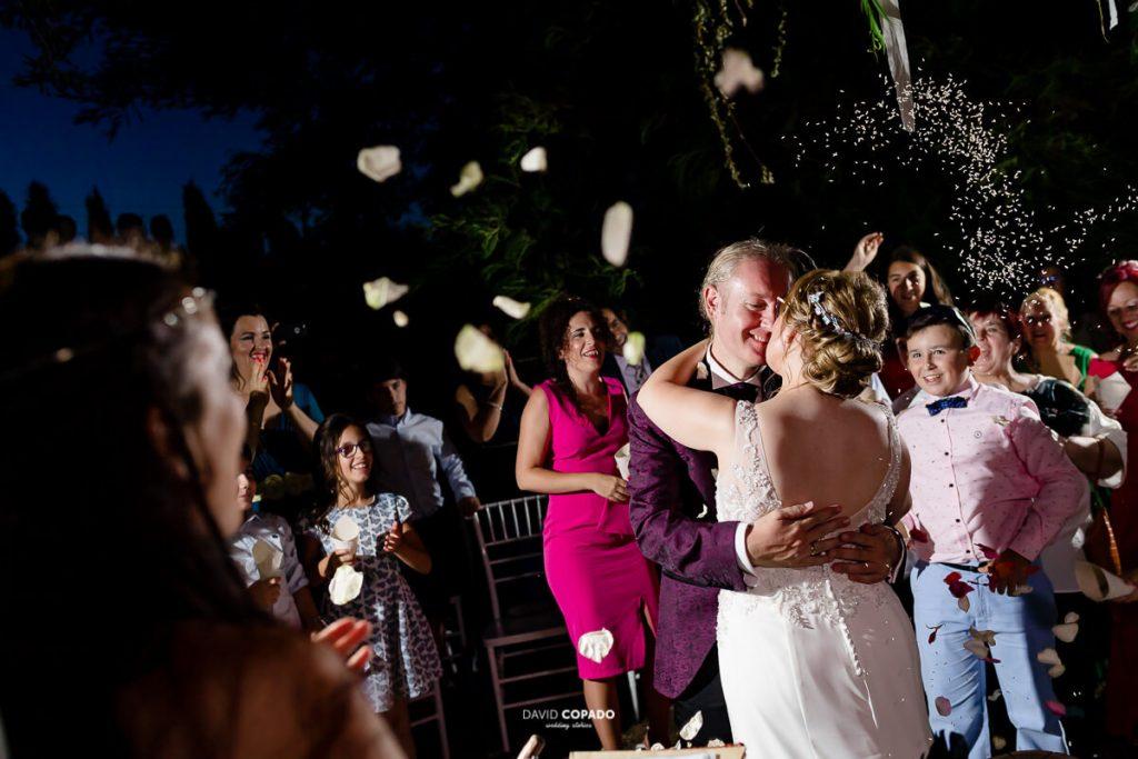 Baile - Fotógrafo de bodas en Ciudad Real - Ángel y Vicen - David Copado