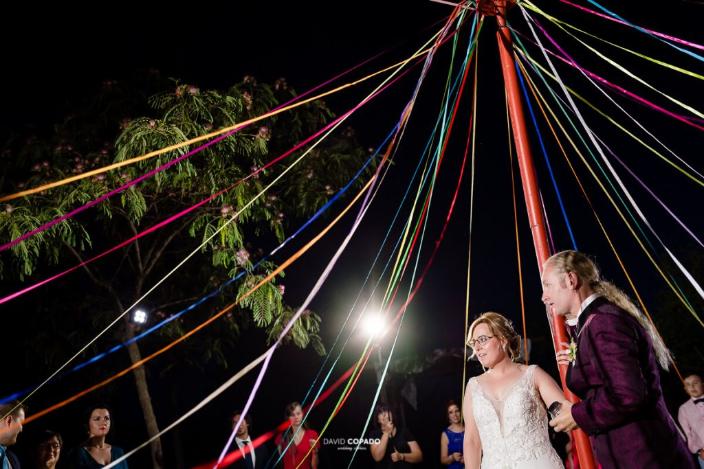 Los novios - Fotógrafo de bodas en Ciudad Real - Ángel y Vicen - David Copado