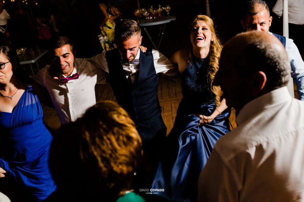 Amigos - Fotógrafo de bodas en Ciudad Real - Ángel y Vicen - David Copado