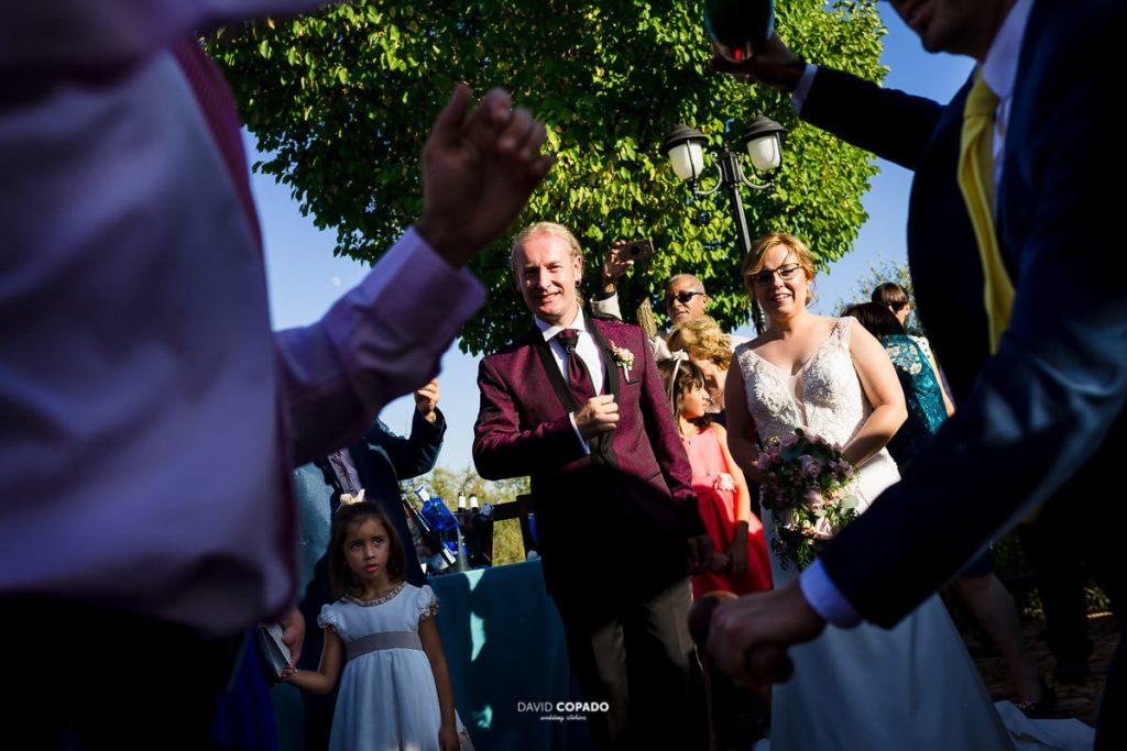 La pareja - Fotógrafo de bodas en Ciudad Real - Ángel y Vicen - David Copado