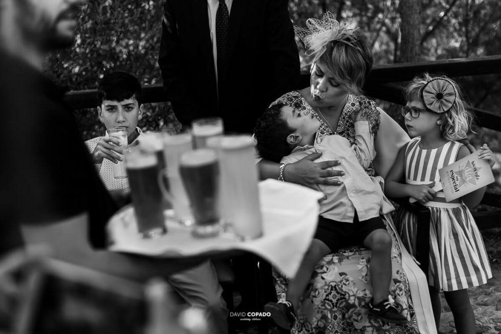 Niños en la boda - Fotógrafo de bodas en Ciudad Real - Ángel y Vicen - David Copado