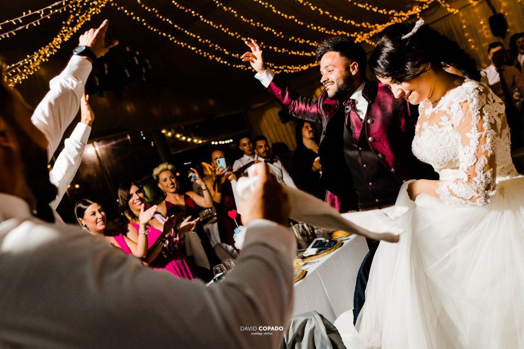 Fiesta - Fotógrafo de bodas en Ciudad Real - María Jesús y Álex - David Copado