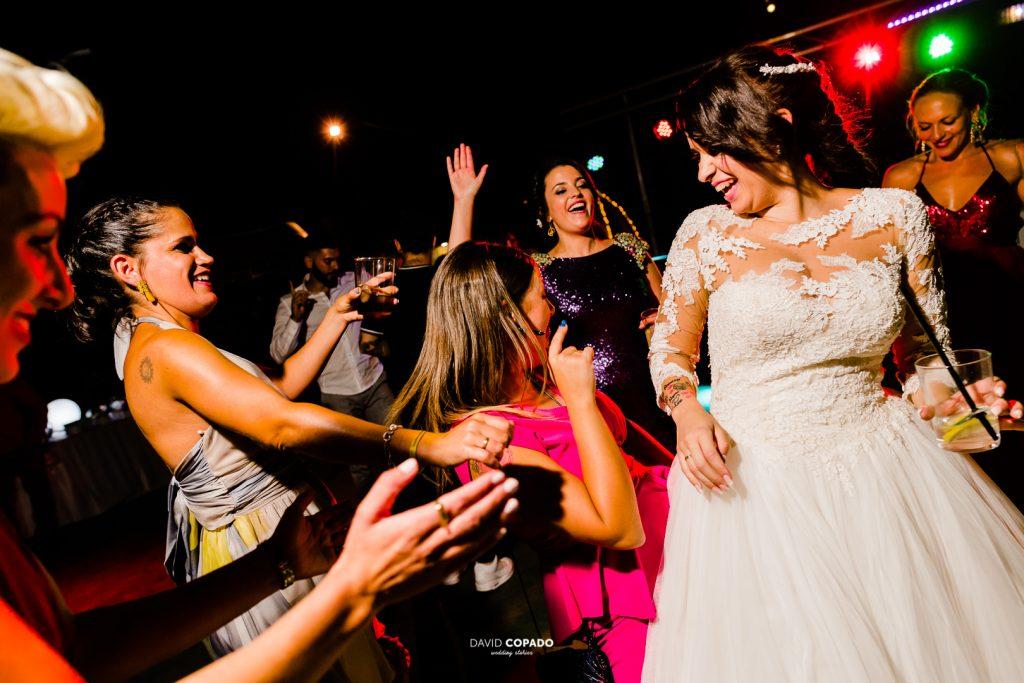 Amigas de la novia - Fotógrafo de bodas en Ciudad Real - María Jesús y Álex - David Copado