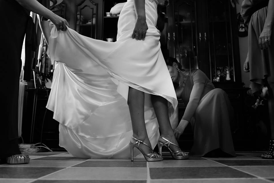Mientras la novia se arregla - Fotógrafo de bodas en Ciudad Real - David Copado