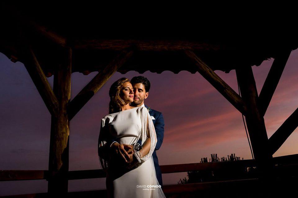 Pareja al atardecer - Fotógrafo de bodas Ciudad Real - David Copado